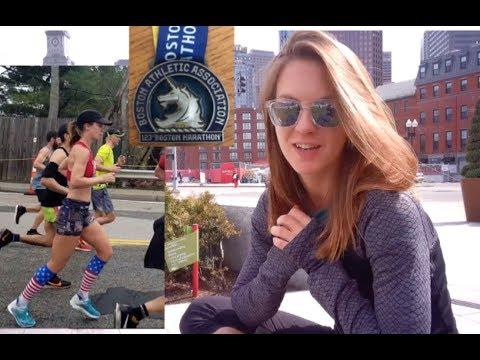 Boston Marathon Weekend 2019 | Expo, Newbury St., What I ate