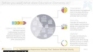 Developing a Responsive School District Strategic Plan - Part 1 | Free Webinar!