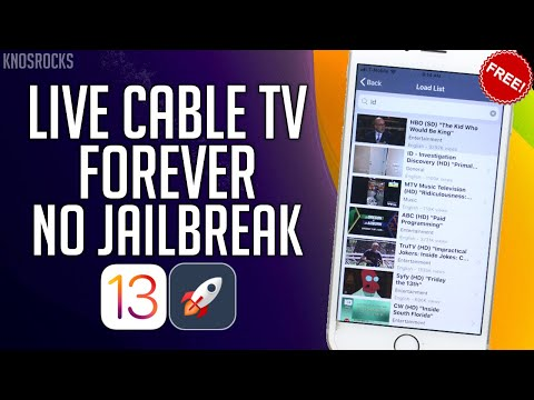 NEW Watch Live Cable TV & Sports FREE IOS 13 - 13.4 / 12 FOEVER NO Jailbreak IPhone IPad IPod