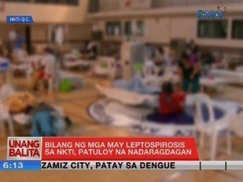 UB: Bilang ng mga may leptospirosis sa NKTI, patuloy na nadaragdagan