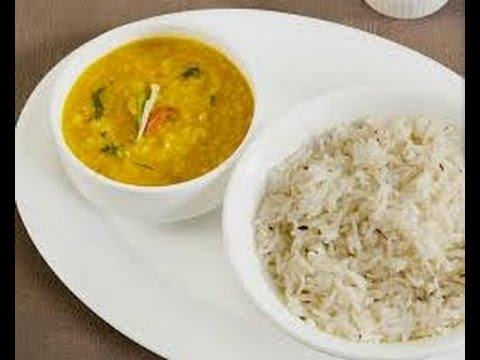 Bland Dal Chawal | INDIAN RECIPES | WORLD'S FAVORITE RECIPES | HOW TO MAKE