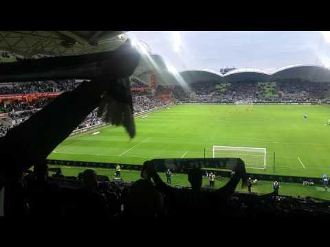 Stand By Me at Melbourne Victory Vs Brisbane Roar Semi Final