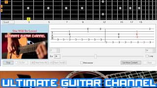 Download [Guitar Solo Tab] She Will Be Loved (Maroon 5) Mp3