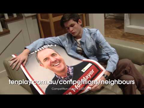 Win a trip to Neighbours! Calen tells you how... AU only
