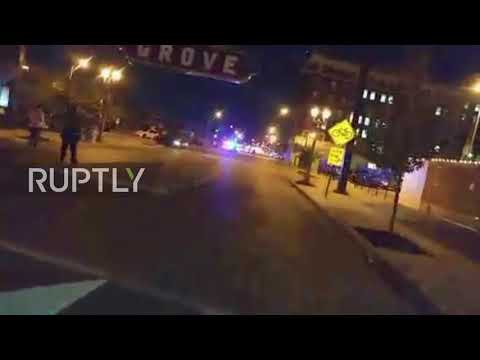 USA: Three injured after car pulls into Trans Lives Matter protesters in St. Louis
