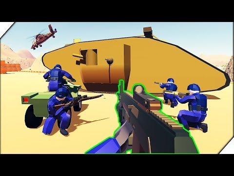 ТАНК МОНСТР -  Игра Ravenfield. Битва солдатиков в РЕВЕНФИЛД. Игра для мальчиков
