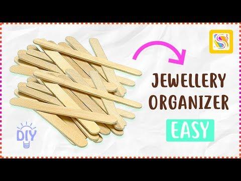 diy-jewellery-organizer-made-with-ice-cream-sticks-|-popsicle-stick-craft-ideas