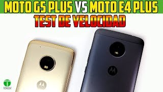 Test de velocidad Moto G5 Plus Vs Moto E4 Plus |speedtest|Tecnocat