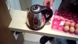 Make Delicious Soft Boiled Eggs Anywhere with an Electric Kettle