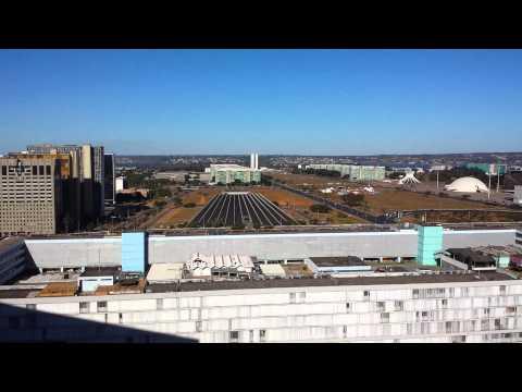 Brasilia - vista do hotel St Moritz Hplus Express