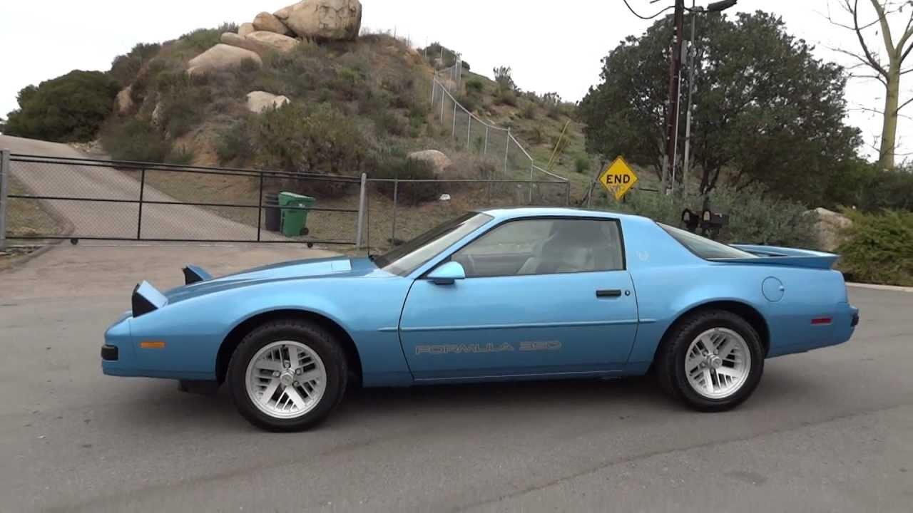 Pontiac Firebird Formula Orig Mi Year Old Lady