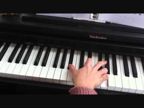 Matt Corby - Brother [Piano tutorial by Zoe Alyse]
