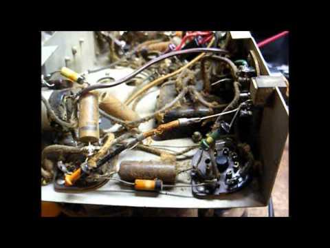 Repair of a Crosley model 517