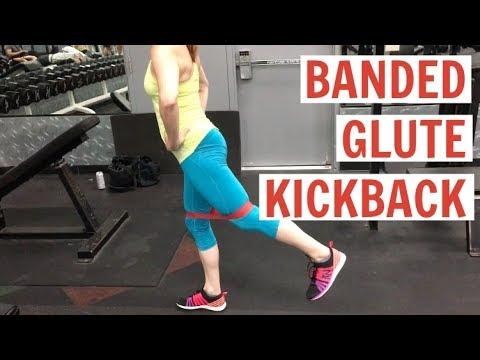 Banded Glute Kickback