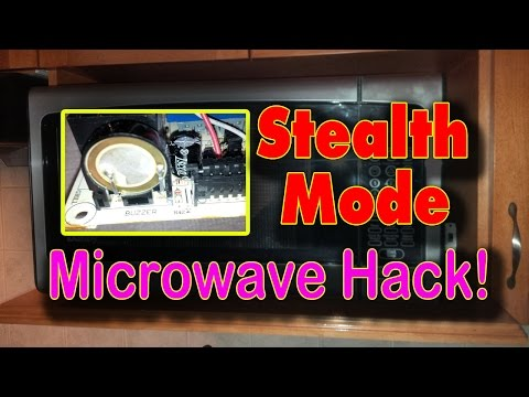Hack That Annoying Microwave Beeper for  Stealth Mode