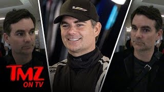 Jeff Gordon Doesn't Trust Self Driving Cars | TMZ TV