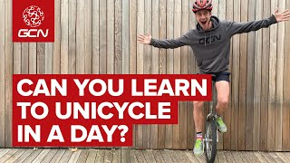 Can You Learn To Ride A Unicycle In A Day?