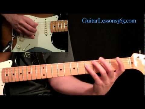 Michael Jackson - Beat It Guitar Lesson Pt.1 - Rhythm Guitar Parts