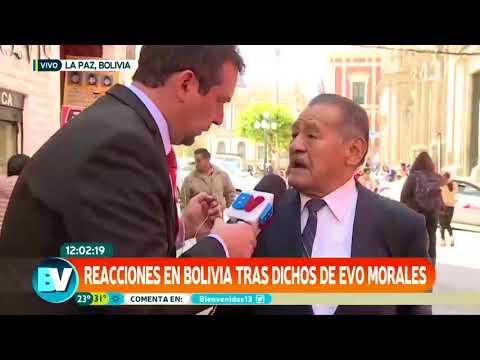 Ciudadano boliviano insulta en vivo a un compatriota exigiendo mar para Bolivia