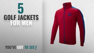 Top 10 Golf Jackets For Men [2018]: Puma T7 Track Jacket Jester Red Large