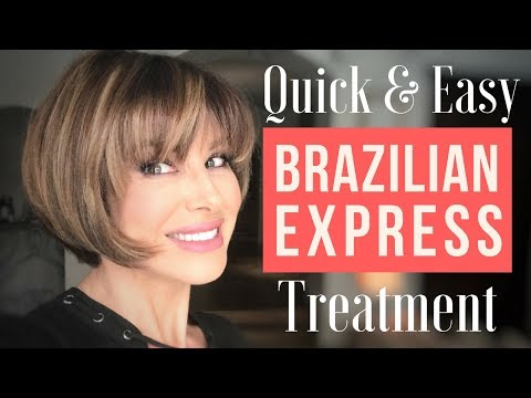 Quick & Easy Brazilian Express Hair Treatment | Dominique Sachse