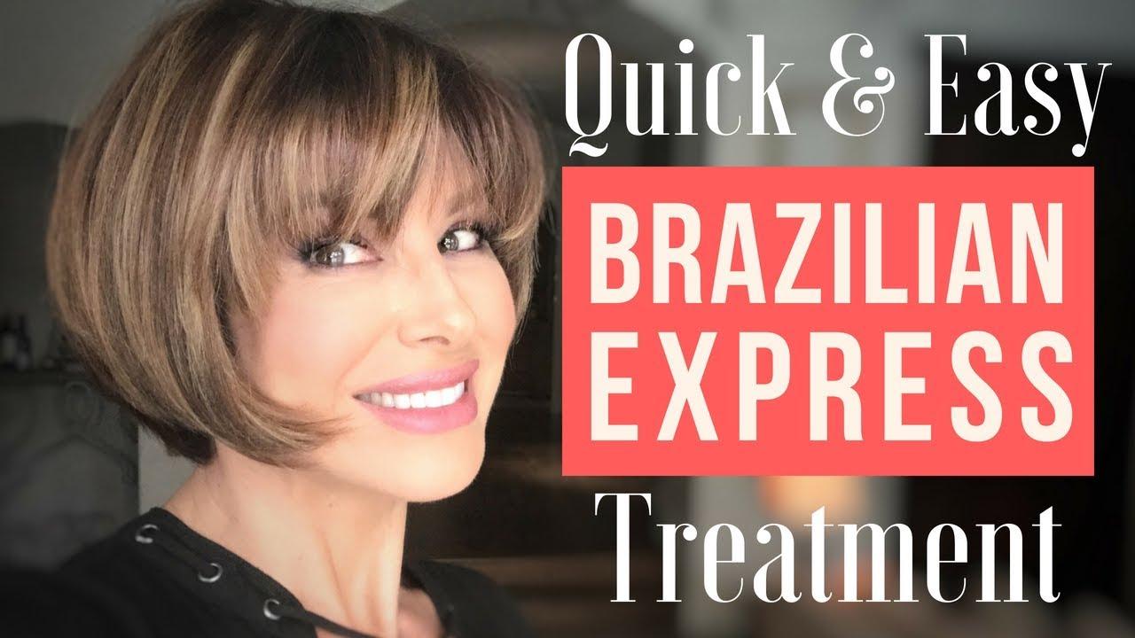 Quick Easy Brazilian Express Hair Treatment Dominique Sachse