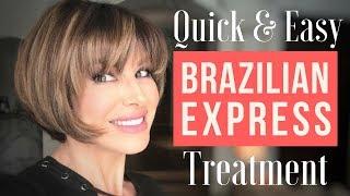 Quick & Easy Brazilian Express Hair Treatment | Dominique Sachse