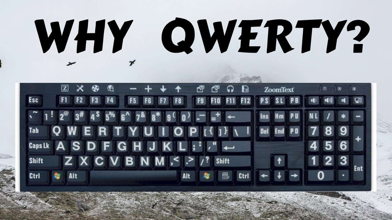 This Is Why The Letters A Keyboard Are Not Arranged