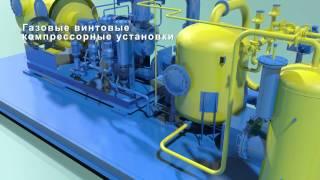 Газовые винтовые компрессорные установки(Газовые винтовые автоматизированные компрессорные установки - унифицированные, блочные с одноступенчатым..., 2015-01-29T13:49:37.000Z)