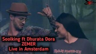 Soolking Ft Dhurata Dora - Zemër live 2020 (clip officiel) FUNX Netherlands Amsterdam