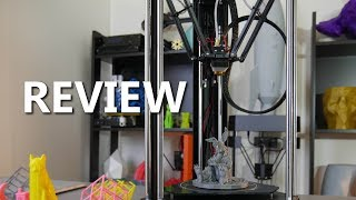 MicroDelta Rework 3D Printer Kit Review