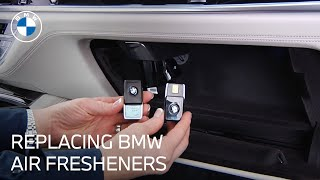 Replace the Air Fragrance Cartridge | BMW Genius How-To