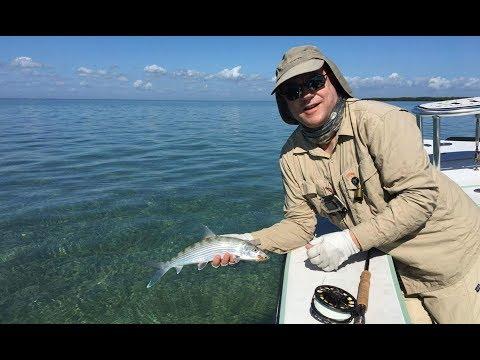 Bonefish on the Fly, Biscayne Bay. Florida Feb 8, 2017