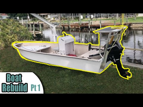How To Build A Skiff Boat // PART 1