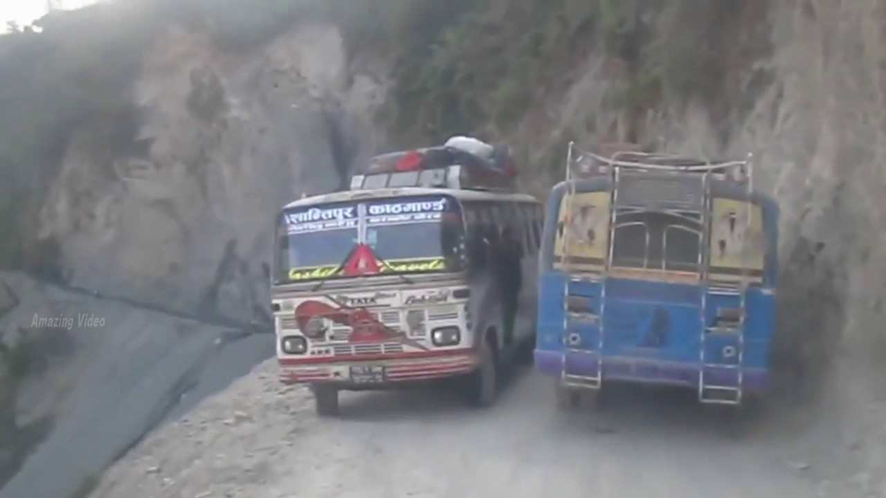 Most Dangerous Roads in The World | Amazing Drivers | Amazing Video