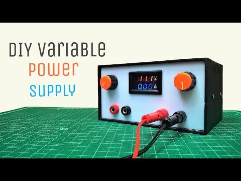 How To Make A DIY Variable Power Supply With Adjustable Voltage(0-30V) And Current(0-6A)