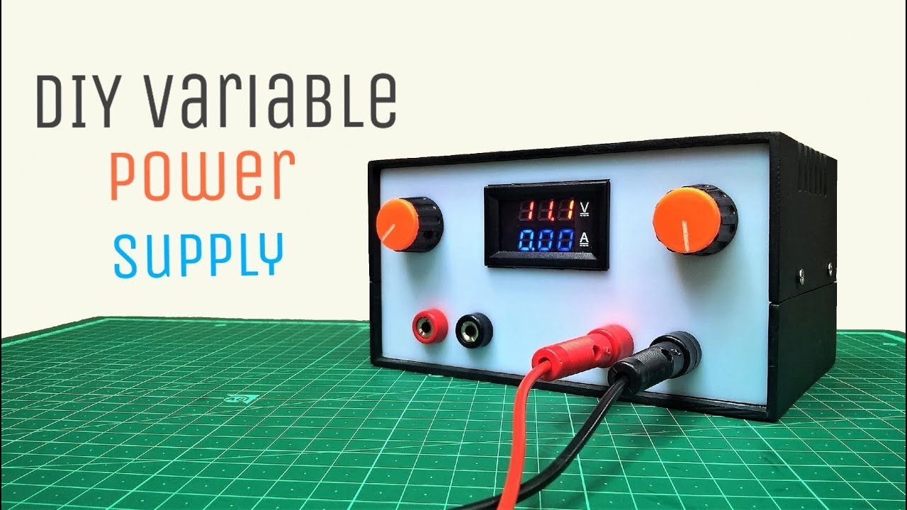 diy variable power supply with adjustable voltage and current 14 steps with pictures  [ 1280 x 720 Pixel ]