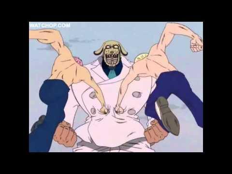 One Piece - Coby & Helmeppo vs Garp