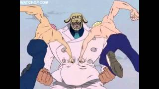 One Piece - Coby & Helmeppo vs Garp