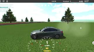 The BMW 3 Serries | ROBLOX | GreenVille