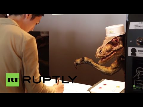 Japan: See robo-dinosaurs serve guests at first ever robot hotel