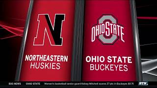 Northeastern at Ohio State - Men's Basketball Highlights