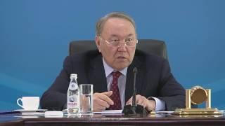 Назарбаев об иждивенчестве.
