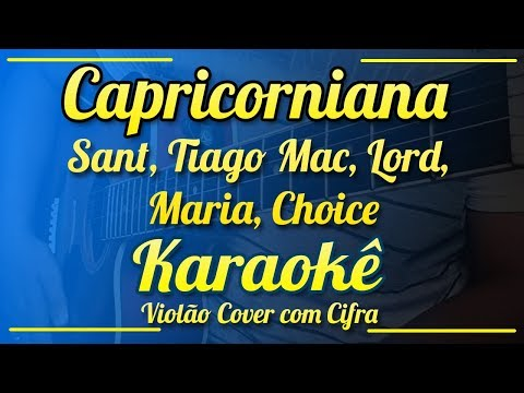 Capricorniana, Poesia Acústica #3 - Karaokê ( Violão cover com cifra )