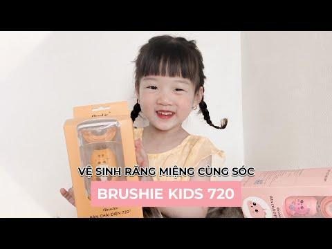 Thoát khỏi sự khó khăn cho việc đánh răng cho bé mỗi ngày là điều đơn giản với Brushie Kids