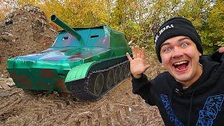 Купили на аукционе танк за 200 тысяч а это оказался