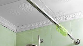 видео Как устроена штанга-держатель для шторы для ванной?