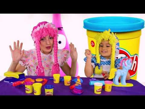 Jugando Plastilina Play-Doh con Peppa Pig