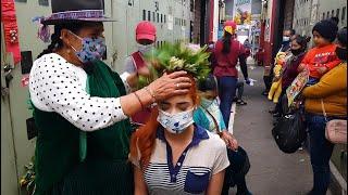 DOÑA ROSA, MARKET LIMPIA (Feria Libre Cuenca), ASMR, SPIRITUAL CLEANSING, MASSAGE