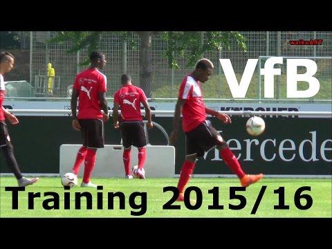 TRAINING VfB Stuttgart, Abseits- und Torwarttraining für die 1.Bundesliga Saison 2015/16